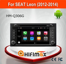 Hifimax Andriod 2 Din car Radio For Seat Leon 2013 (2012-2014) Touch Screen Car Stereo with Quad Core 1080P WIFI 3G INTERNET DVR