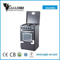 Good quality kitchen appliance 4 burner gas cooker with oven