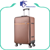 Low price travel luggage bags wheeled trolley duffle suitcase