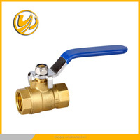 screw size 1/2 brass filter ball valve with union