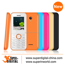 low end cell phone 1.77 inch dual sim card gsm mobile phone with bluetooth and wireless FM
