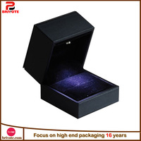 Luxury leather jewelry /jewellery packaging gift box for sale