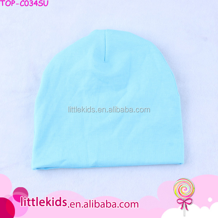 Solid Color Newborn Baby Beanie Knit Hats