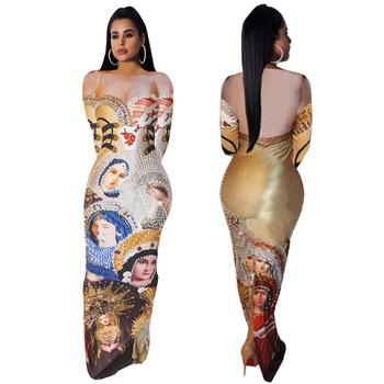 Womens sexy maxi evening dresses for fat ladies
