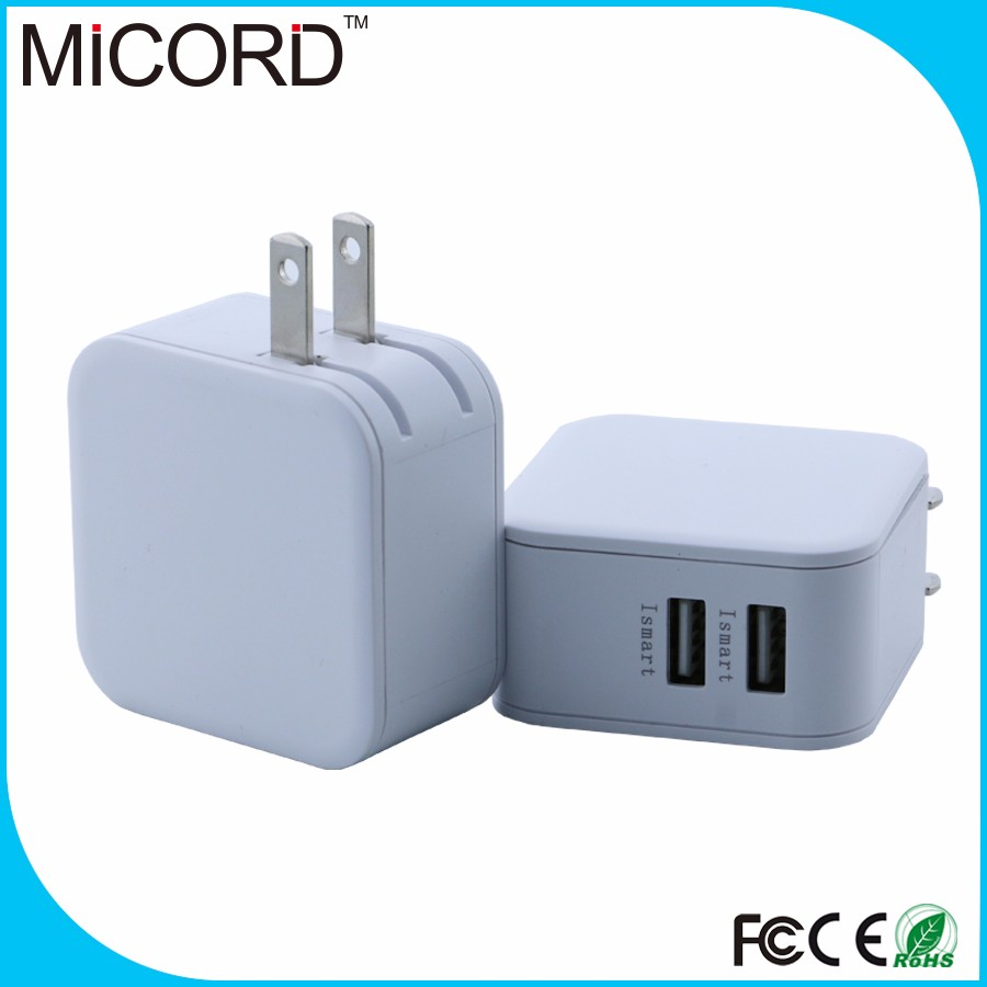 New Arrival US Plug Wall Chargers 5V 4.8A AC Travel Home Power Adapter Wall Charger for cell phone