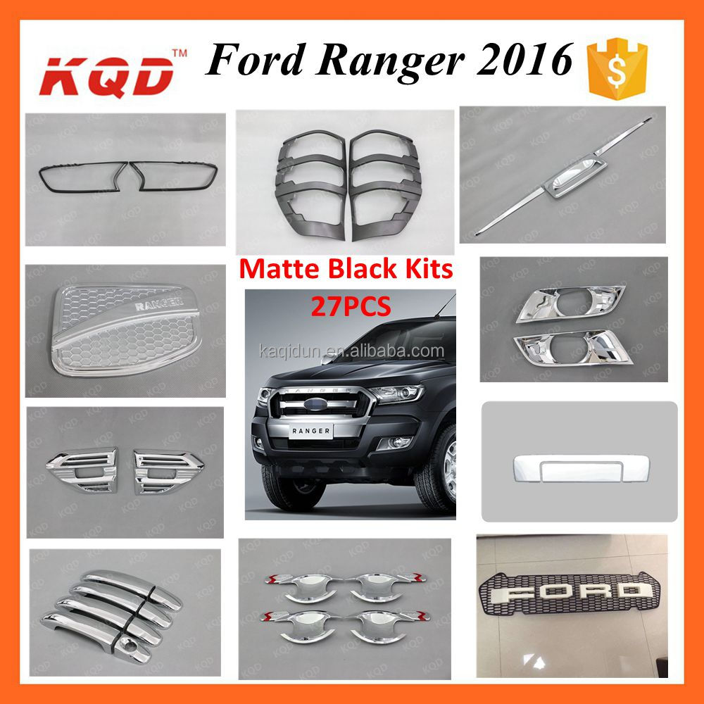 * Wholesale Double Cab Pick Up Car 4WD Top Selling Ford2015 2016 Ranger Accessories Headlight Ranger Head Lamp Cover