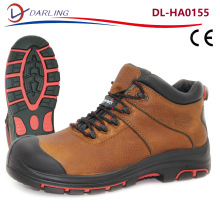 Good quality full grain leather waterproof oil resistant safety work shoes S2 safety shoes