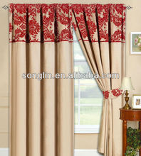 New Fully Lined Ready Made Tape Top Curtains with 2 Tie Backs