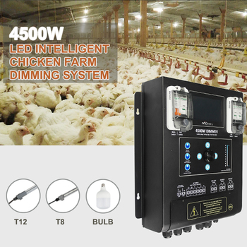4500W LED Dimming controller 3 channels output light dimmer