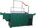 Low cost hydraulic type wood shavings machine for animal bedding