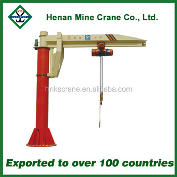 High Performance Column Swing Jib Crane