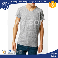 Types of fabric for t-shirts,linen 100% spun polyester enzyme wash t-shirts