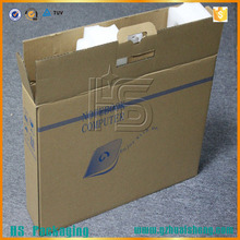 High quality 17 inch laptop packaging box with foam lining
