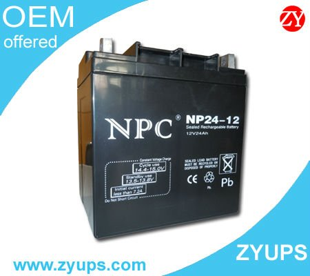 UPS VRLA Battery SMF VRLA GEL UPS battery Lead Acid battery for Engine starting 12V24AH~200AH