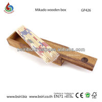 wooden brain Mikado wooden game