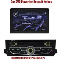 Special Car DVD GPS player for Renault Koleos ,Bluetooth-Enabled, CD/MP3/MP4 Player, Radio Tuner,TV, PIP