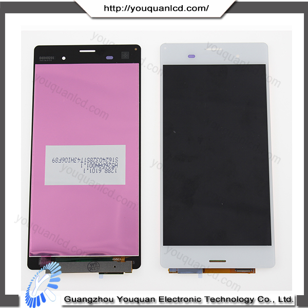 2015 Made in China Fashionable Promotion for sony xperia z3 lcd touch screen digitizer black