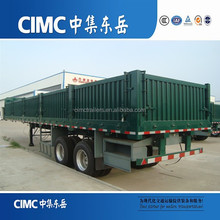CIMC Tri Axle Cargo Transporter Trailer With JOST Landing Gear