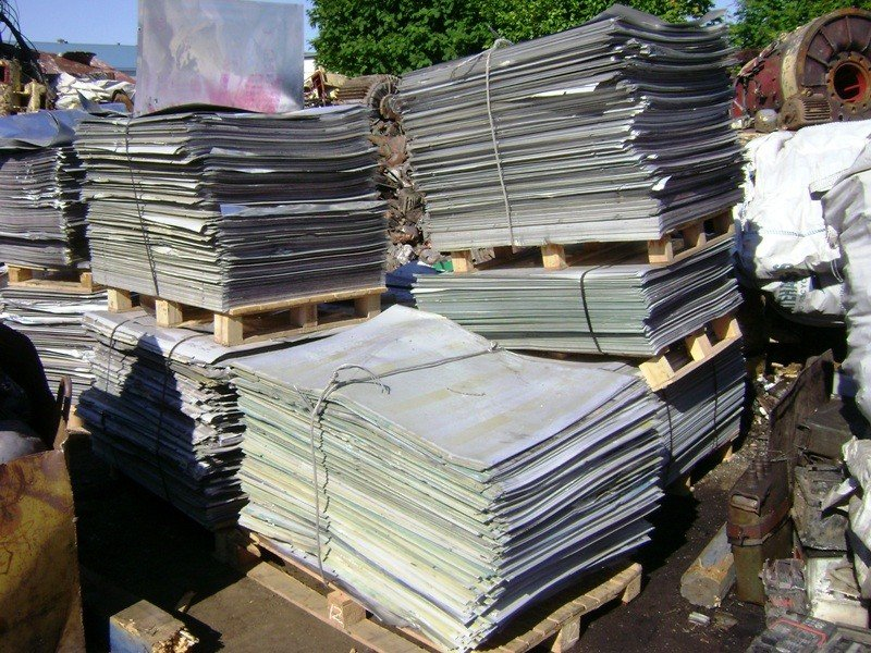 ALUMINIUM LITHO SHEETS SCRAP