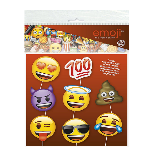 emoji party supplies emoji face photo booth props