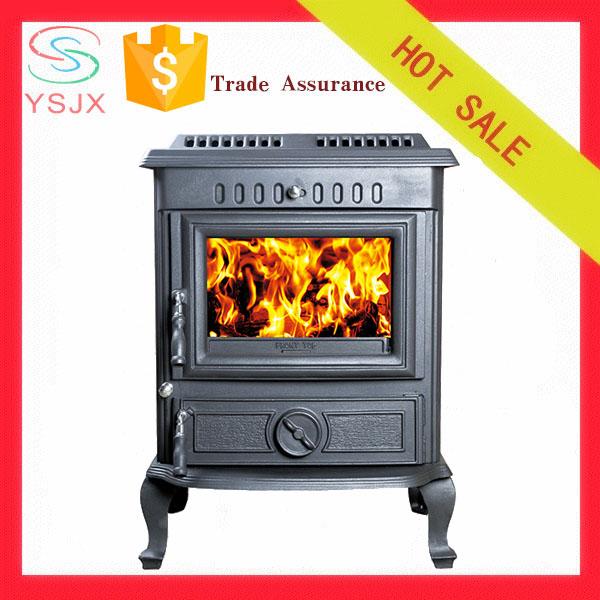 Free-standing Indoor Metal Wood Burning Fireplace - Buy ...