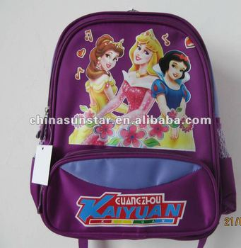 Beautiful fashion school bag for girls 2012
