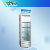 110v tall national quiet compact cfc free soft drink glass door commercial refrigerator