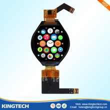new product 1.3 inch circle wearable dsi lcd screen