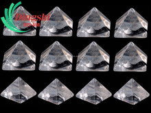Bulk Wholesale Carved Clear Quartz Crystal Healing Stones Pyramid
