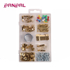 Wholesale 200pcs household hardware eye screw with picture hangers saw tooth semi round nail
