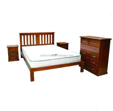 solid New Zealand Chile radiata pine wood classic rustic antique furniture bedroom sets