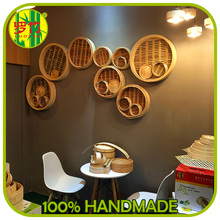 Wholesale Chinese Restaurant Wall Decoration With Bamboo Steamer