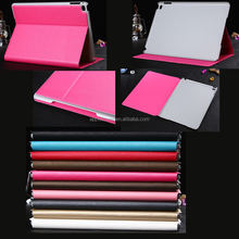 Luxury stand flip pu leather case for ipad air 2