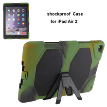 shockproof Survival Silicon Case for iPad Air 2