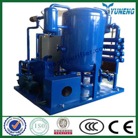 Small waste continuous pyrolysis oil refine machine