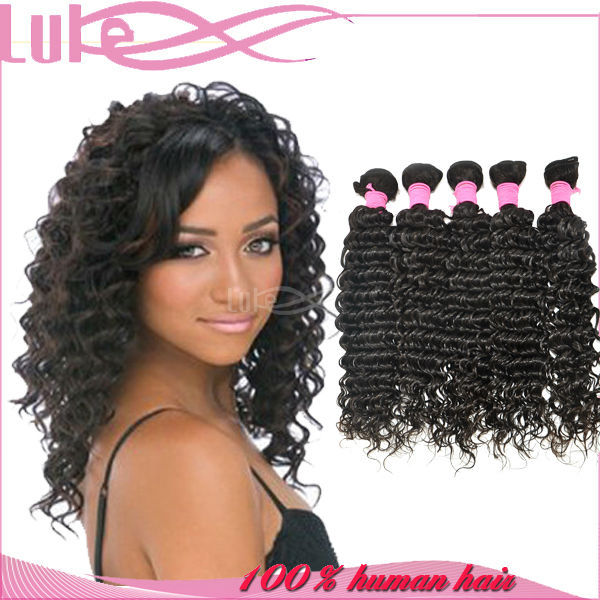 Top Grade 5A Tangle & Shedding Free 100% Virgin Remy Italian Curl Hair