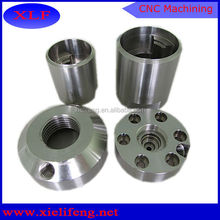 cnc machined clear natural anodized aluminum bicycle parts