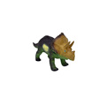 Mini kids squeeze toy plastic vinyl animal dinosaur toy
