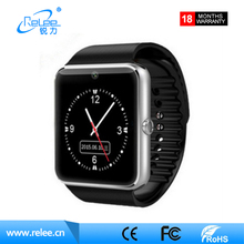 Hot sale GT08 smart watch for Andriod phone cheap led smart watch