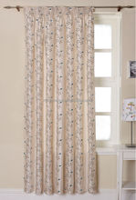 2014 popular different styles of curtain with 100%polyester