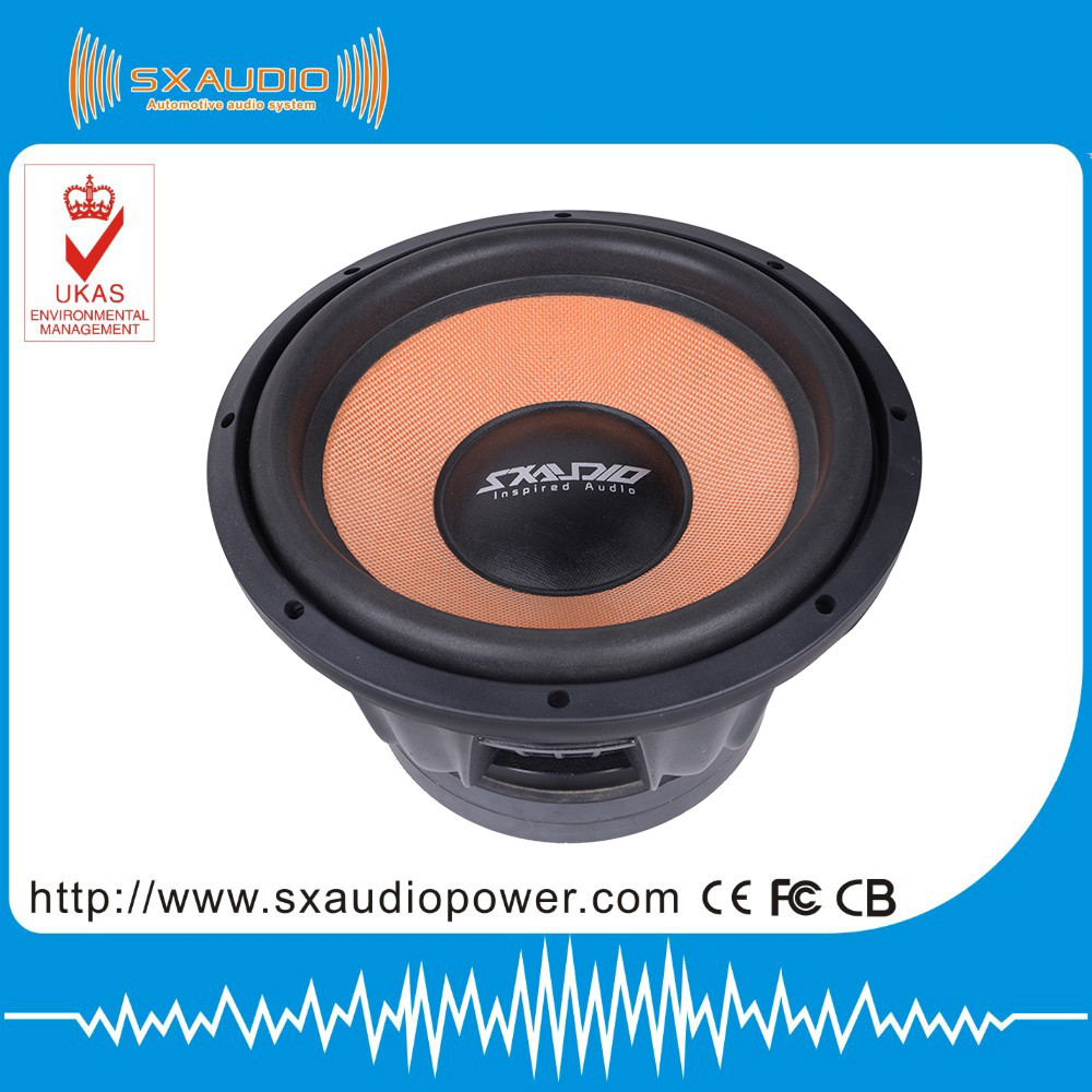 Hot sell best car powered subwoofer,car speakers subwoofer 1500w rms,used car subwoofers
