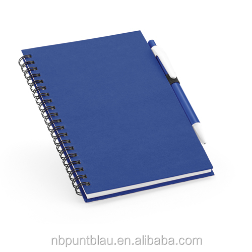 Notebook 80 lined sheets notebook with pen