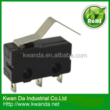 mini micro switch, electrical micro switch, types of micro switches