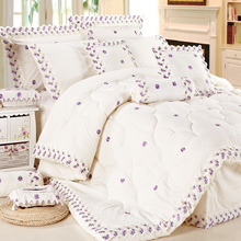 KOSMOS Bedding Polycotton Embroidery Lace comforter wholesale spanish bedding