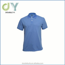 Rib Knit collar men's polo shirt 100% cottom polo shirt
