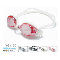 wholesale novelty advanced swim goggles for pink lady swimming goggles