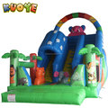 Hot sale China commercial kids game pvc dry giant inflatable slide