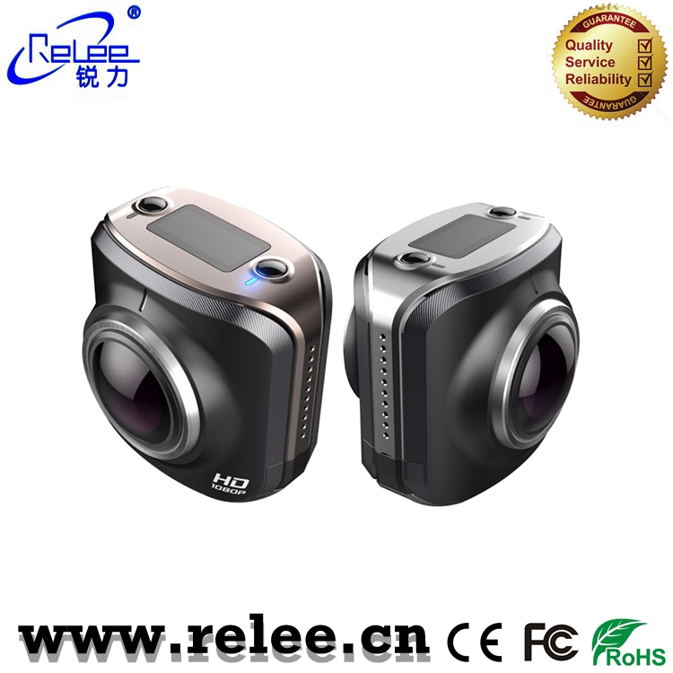 Relee private WIFI action camera V17 360degree panorama VR camera FHD 1080P wifi sport camera