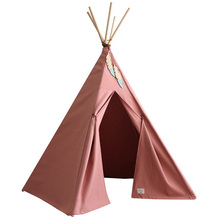 Hot sale competitive cotton canvas baby sleeping tent childrens teepee