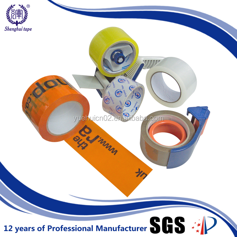 Manufacturer Waterproof Self Adhesive Low Noise Bopp Packing Tape